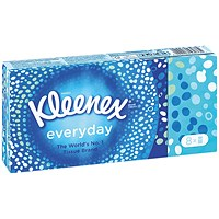 Kleenex Everyday Pocket Tissues - 144 Individual packs