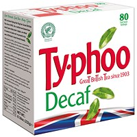 Typhoo Decaf Teabags (Pack of 80)
