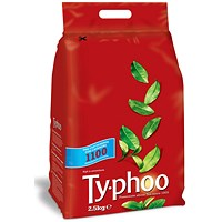 Typhoo 1 Cup Tea Bags, Vacuum-packed, Pack of 1100