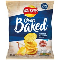Walkers Baked Cheese and Onion 37.5g (Pack of 32)