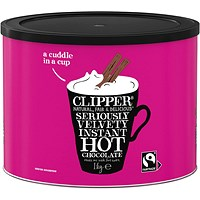 Clipper Organic Fairtrade Hot Chocolate 1kg