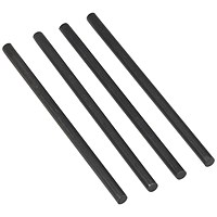 Avery DTR Metal Risers for All Avery Trays, 118mm, Black, Pack of 4