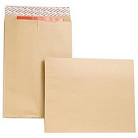 New Guardian Heavyweight Gusset Envelopes, 406x305mm, 25mm Gusset, 130gsm, Peel & Seal, Manilla, Pack of 100