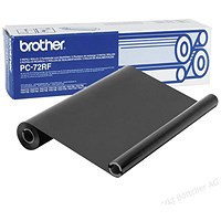 Brother PC72RF Black Thermal Fax Ribbon (Twin Pack)