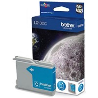 Brother LC1000C Cyan Inkjet Cartridge