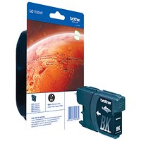 Brother LC1100HYBK Black High Yield Inkjet Cartridge