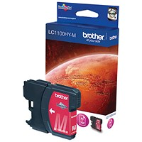 Brother LC1100HYM Magenta High Yield Inkjet Cartridge