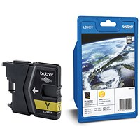 Brother LC985Y Yellow Inkjet Cartridge