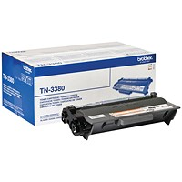 Brother TN3380 Black High Yield Laser Toner Cartridge