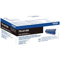 Brother TN421BK Black Laser Toner Cartridge