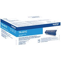 Brother TN421C Cyan Laser Toner Cartridge