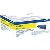 Brother TN421Y Yellow Laser Toner Cartridge