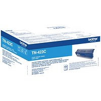 Brother TN423C Cyan High Yield Laser Toner Cartridge