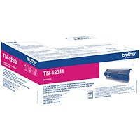 Brother TN423M Magenta High Yield Laser Toner Cartridge