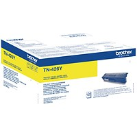 Brother TN426Y Yellow Super High Yield Laser Toner Cartridge