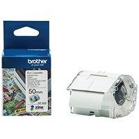 Brother Label Roll 50mm x 5m for Label Printer CZ1005