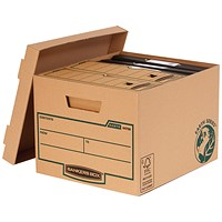 Fellowes Bankers Box Earth Storage Boxes, Standard, Pack of 10