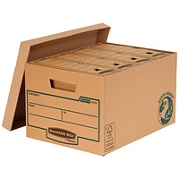 Fellowes Bankers Box Earth Storage Boxes, Large, Pack of 10