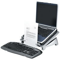 Fellowes Office Suites Laptop Riser Plus Black/Silver