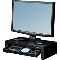 Fellowes Designer Suites Monitor Riser Black