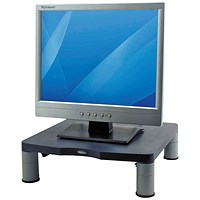 Fellowes Monitor Riser, 17 inch CRT 21 inch TFT, Black