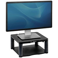 Fellowes Premium Monitor Riser, Black