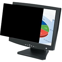 Fellowes Blackout Privacy Filter, 22 inch Widescreen, 16:10