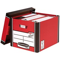 Bankers Box Premium Tall Box Red (Pack of 5)