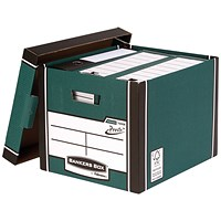 Bankers Box Premium Tall Box Green (Pack of 5)