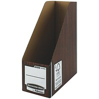 Fellowes Brown Bankers Box Premium Magazine File (Pack of 10)