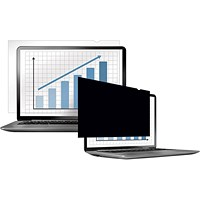 Fellowes Blackout Privacy Filter, 14.0 inch Widescreen, 16:9