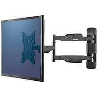 Fellowes Full Motion Single Wall Mount TV Arm