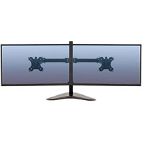 Fellowes Professional Series Free Standing Dual Horizontal Monitor Arm