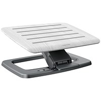 Fellowes Hana Foot Support Adjustable Grey