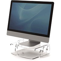 Fellowes Clarity Adjustable Monitor Riser