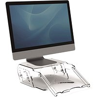 Fellowes Clarity Adjustable Monitor Riser w/Document Support