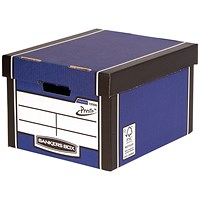 Bankers Box Premium Classic Box Blue (Pack of 5)