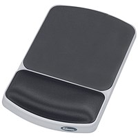 Fellowes Premium Gel Mouse Pad Graphite 91741