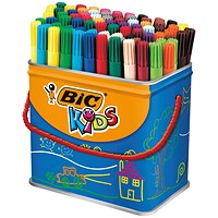 Bic Kids Visa Felt Pens Fine Tip Assorted (Pack of 84)