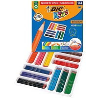 Bic Kids Evolution Ecolutions Pencils Assorted (Pack of 144)