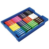 Little Brian Paint Sticks, Assorted, Tray of 144