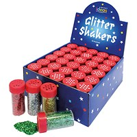 Bright Ideas Assorted Glitter Shakers (Pack of 30)