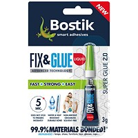 Bostik Fix and Glue Liquid 3g