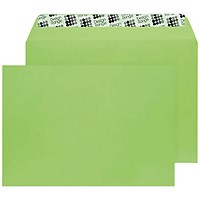 Blake Plain Green C5 Envelopes, Peel & Seal, 120gsm, Pack of 250