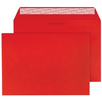 Blake Plain Red C5 Envelopes, Peel & Seal, 120gsm, Pack of 250