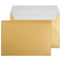 Blake Plain Gold C5 Envelopes, Peel & Seal, 120gsm, Pack of 250