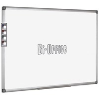 Bi-Office Aluminium Trim Drywipe Board 900x600mm