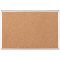 Bi-Office Earth Cork Noticeboard 1200x900mm