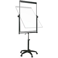 Bi-Office Performer Flipchart Easel Black