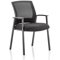 Metro Visitor Chair - Black